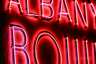 Albany Bowl Neon Sign