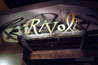 Rivoli Restaurant Sign
