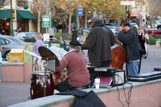 Musicians In front of Peet's - North Berkeley