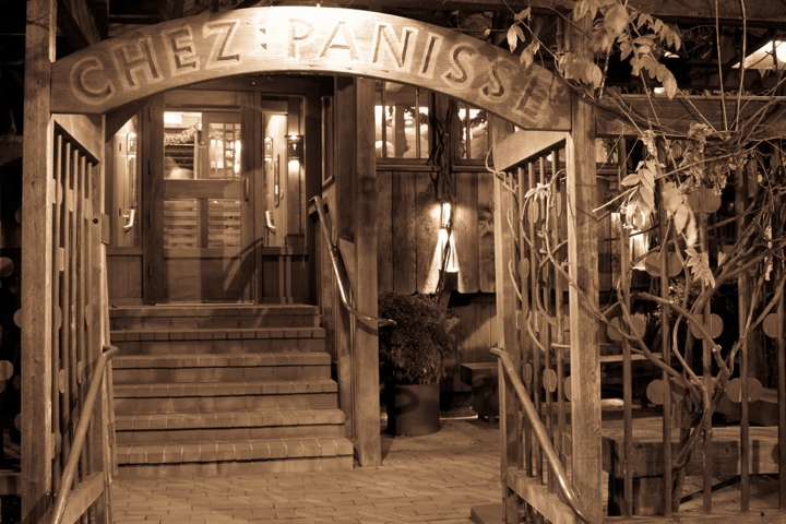 Chez Panisse - Alice Water's restaurant in North Berkeley's Gourmet Ghetto