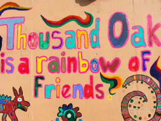 Thousand Oaks is rainbow of friends