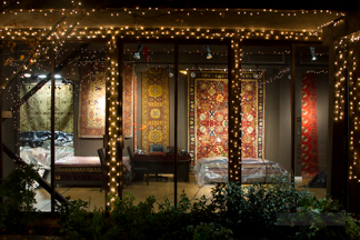 Noor and Sons Rug Gallery - Night Photo