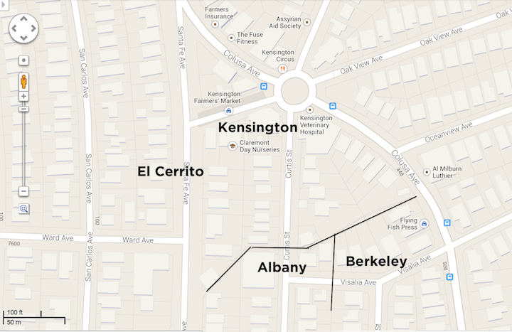 Four Corners - Berkeley - Albany - Kensington - El Cerrito